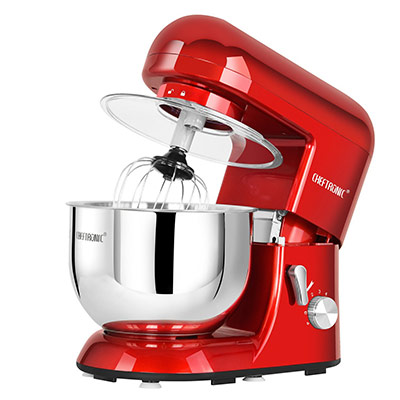 Stand Mixer Cooks Professional 5 Quart Dough Cake Baking Electric Kitchen Red