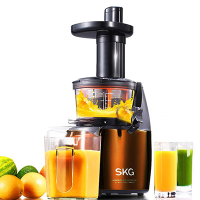 SKG Premium 2-in-1 Anti-Oxidation Slow Masticating Juicer & Multifunction Food Processor