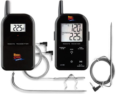 Maverick ET-732 Wireless BBQ Meat Thermometer - Black - Includes Extra 6 Ft. Probe