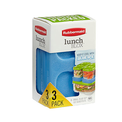 Rubbermaid LunchBlox BLUE ICE SMALL Ice Pack