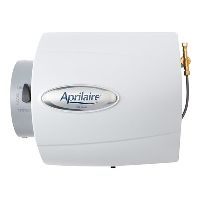 Aprilaire 500 Humidifier, 24V Whole House Humidifier with Auto Digital Control Bypass Damper .5 Gallons per hour